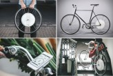 FlyKly's Smart Wheel Powers Your Bike & Charges Your Phone