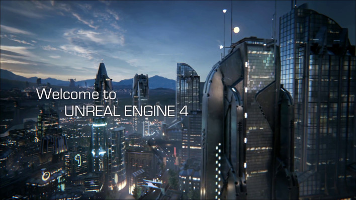 The work that is currently being produced using Unreal Engine 4 will blow you away.