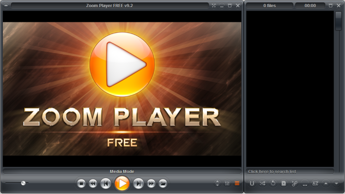 Zoom Player is both rapid and stable.
