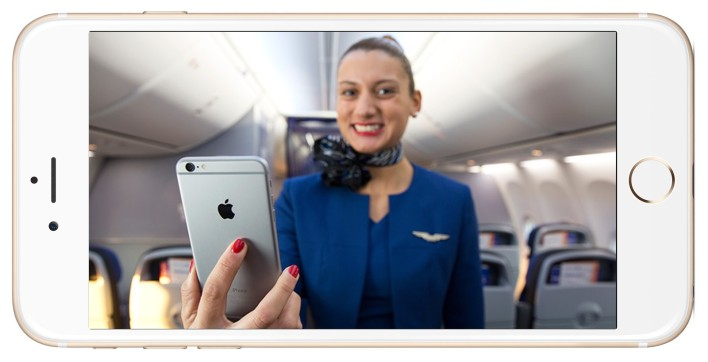 Flight Attendants From United To Get iPhone 6 Plus