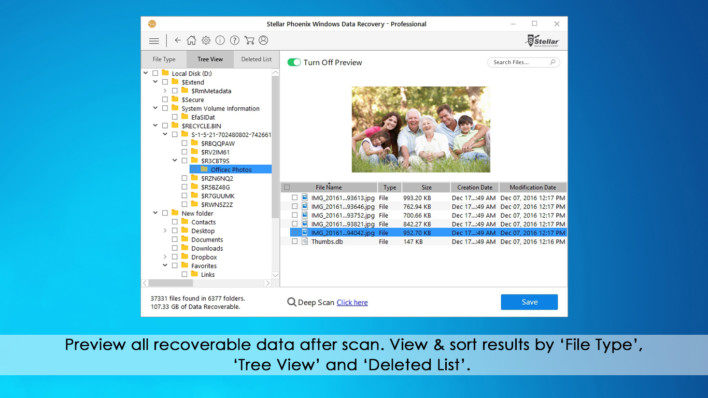 Stellar Phoenix Windows Data Recovery Review
