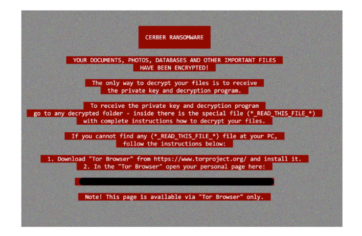 Malwarebytes Detail The Evolving Threat And Rise Of Cerber Cyber Ransomware