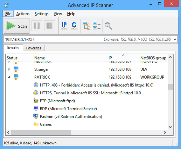 We Review Advanced IP Scanner 2.5 By Famatech